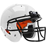 Schutt Youth Recruit R3+ Football Helmet (Color: White, Tamaño: X-Large)