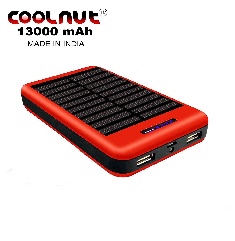 Solar 13000mAh Power Bank