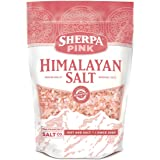 Sherpa Pink Himalayan Salt 5 lbs. Coarse Bulk Bag - Ideal for Salt Grinders & Salt Mills (Tamaño: 5lb Bag - Coarse Grain)