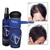 Infinity Hair Fibers Kit - Black 14g, Pump Applicator & Locking Spray (Color: Black)