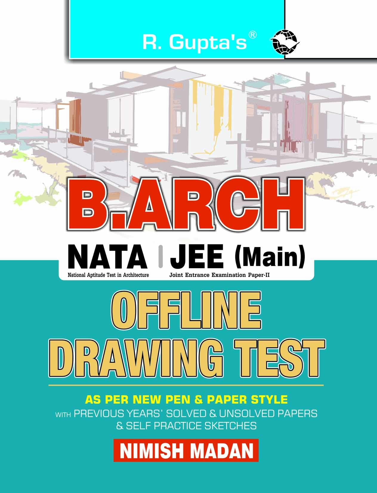 Buy Nata B Arch Guide To Bachelor Of Architecture Entrance