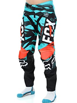 Pantalon Motocross Enfant Fox 2016 180 Vicious Aqua