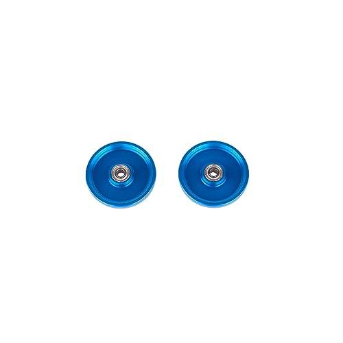 19mm オールアルミベアリングローラー アルマイト加工 15464 (ブルー)