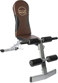 CAP Barbell Adjustable Workout Press Floding Sit Weight Bench