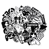 FNGEEN Laptop Stickers Pack [ Clear Stickers ] 100pcs Sticker Bomb for Car Motorcycle Bicycle Luggage Graffiti Patches Skateboard Wall Deacls (Clear Stickers) (Color: Clear, Tamaño: Clear stickers)