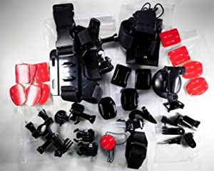 gopro hero camera accessory mounts