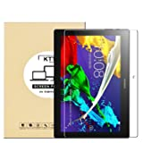 KTtwo Lenovo Tab 10 Tablet Screen Protector, 9H Tempered Glass Anti-Scratch Screen Protector for Lenovo Tab 2 A10-70 / Tab 2 A10-30 / Tab 3 10 Business / TB3-X70 / TAB-X103F / Tab 10 10.1 Tablet (Color: clear)