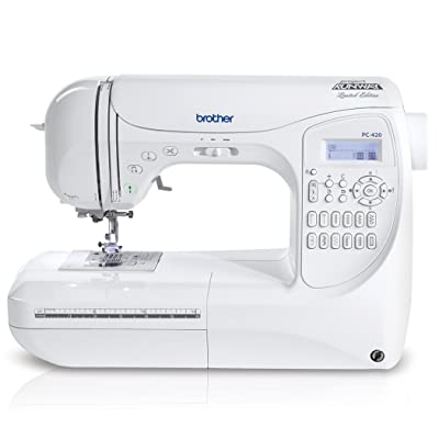 Brother Project Runway PC420PRW 294-Stitch Professional Grade Computerized Sewing Machine Review