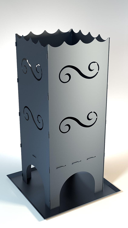 Feuerkorb classic mit 45 Liter Brennraum-Volumen mit Aschewanne und Rost online kaufen