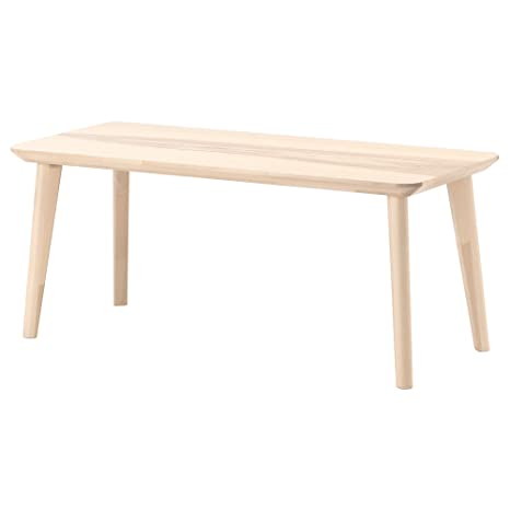 IKEA LISABO - Coffee table Ash veneer