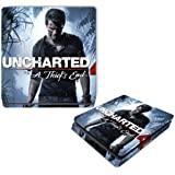 Uncharted A Thief's End Video Game Vinyl Decal Skin Sticker Cover for Sony Playstation 4 PS4 Slim
