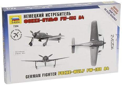 Zvezda - Z7304 - Maquette - Aviation - Focke Wulf Fw190a-4