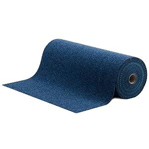 Rasenteppich / Kunstrasen Farbwunder Royal  Zuschnitt nach Maß  denim blau  133x950cm  BaumarktÜberprüfung und Beschreibung