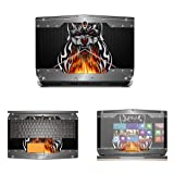 Decalrus - Protective Decal Skin skins Sticker for 2015 Alienware 17 R2 Touch Screen (17.3