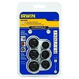 IRWIN Tools IMPACT Performance Series BOLT GRIP Bolt Extractors, 6-Piece Set, Rail  Expansion (1881175) (Tamaño: 6-Piece Expansion Set)