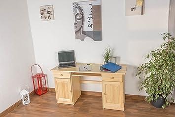 Schreibtisch Kiefer natur