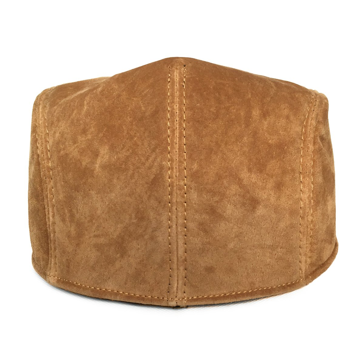 LETHMIK Classic Newsboy Flat Hat Genuine Leather Cabbie Hat Ivy Cap Driving 3