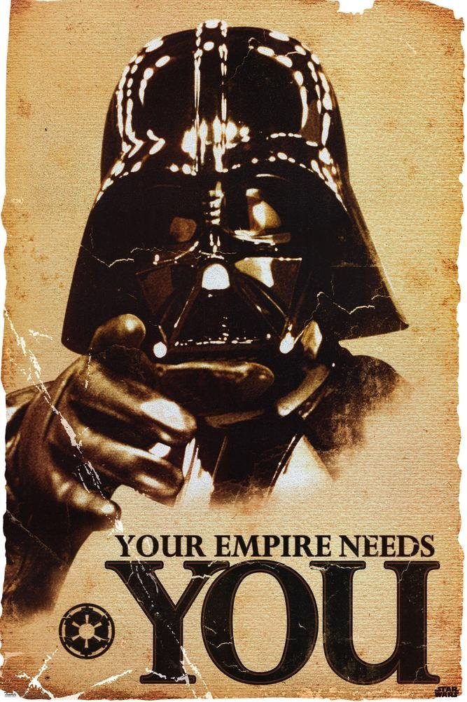 STAR WARS - Empire Needs You Poster 24 x 36in 0