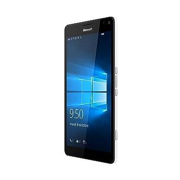 Microsoft Lumia 950 XL Smartphone débloqué 4G (Ecran : 5,7 pouces - 32 Go - Double Nano-SIM - Windows Phone) Blanc