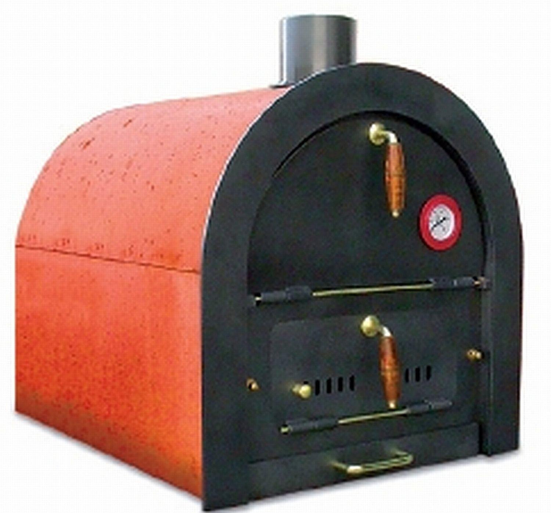 Steinbackofen Holzbackofen Pizzaofen Bausatz Valoriani mit indirekter Befeuerung günstig