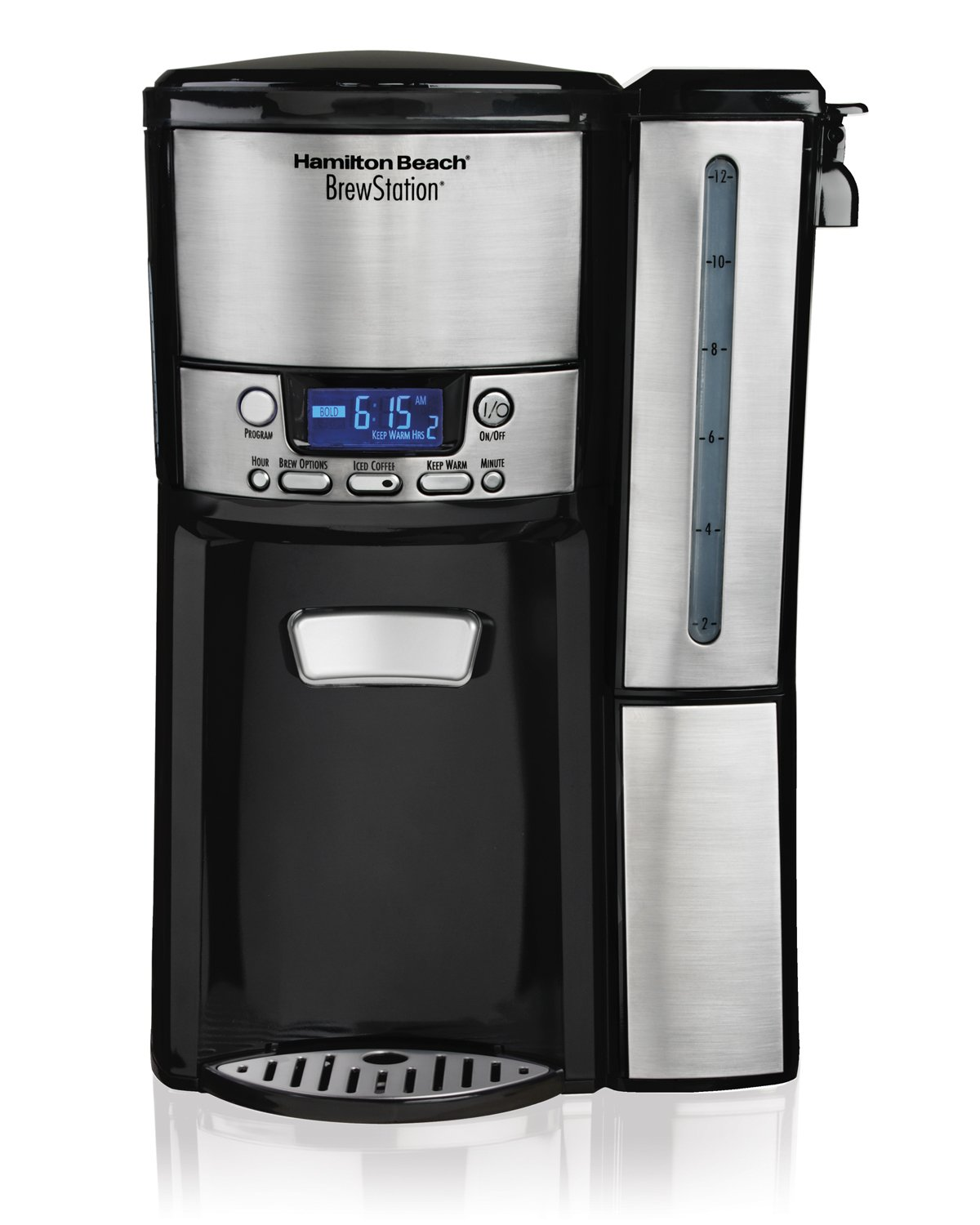 Hamilton Beach 47950 12-Cup BrewStation Dispensing Drip Coffeemaker