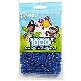Perler Beads Fuse Beads for Crafts, 1000pcs, Dark Blue (Color: Dark Blue)