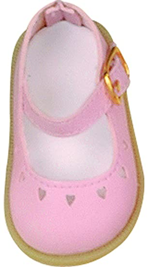 Kathe Kruse Toni Shoes Pink With Hearts