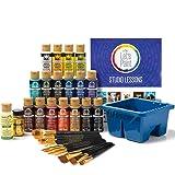 FolkArt 99301 Studio Series Let's Paint Kit, Multiple Colors 39 Piece (Color: Multiple Colors)