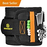 Swimmaxt Magnetic Wristband with Strong Magnets for Holding Screws, Nails, Drill Bits (New) (Color: New)