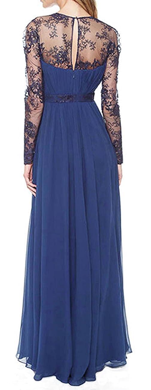 Merope J Women's Casual Deep- V Neck Sleeveless Vintage Maxi Dress 1