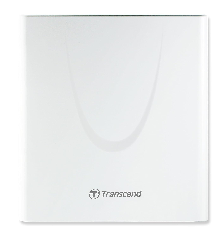 Lecteur - graveur externe CD-DVD TRANSCEND TS8XDVDRW BLANC