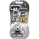BIC Flex 5 Disposable Razor, Men, 3-Count