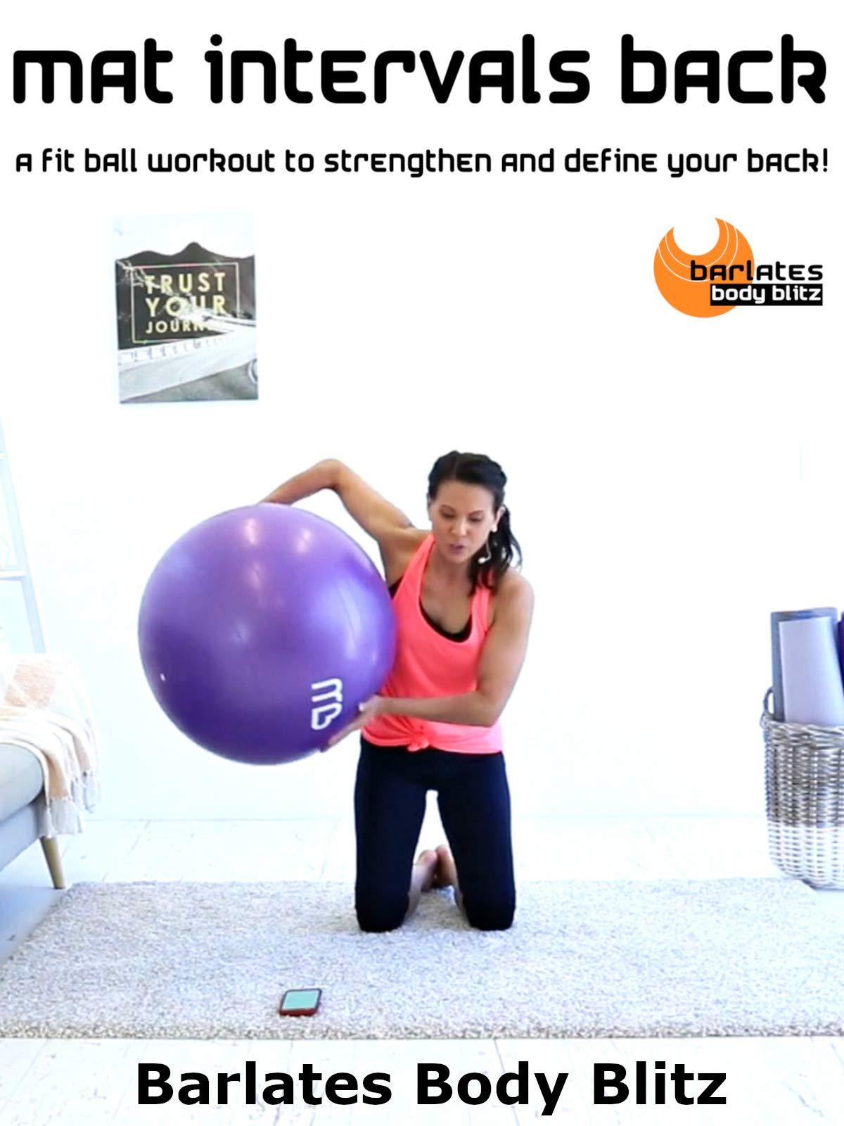 Barlates Body Blitz Mat Intervals Back