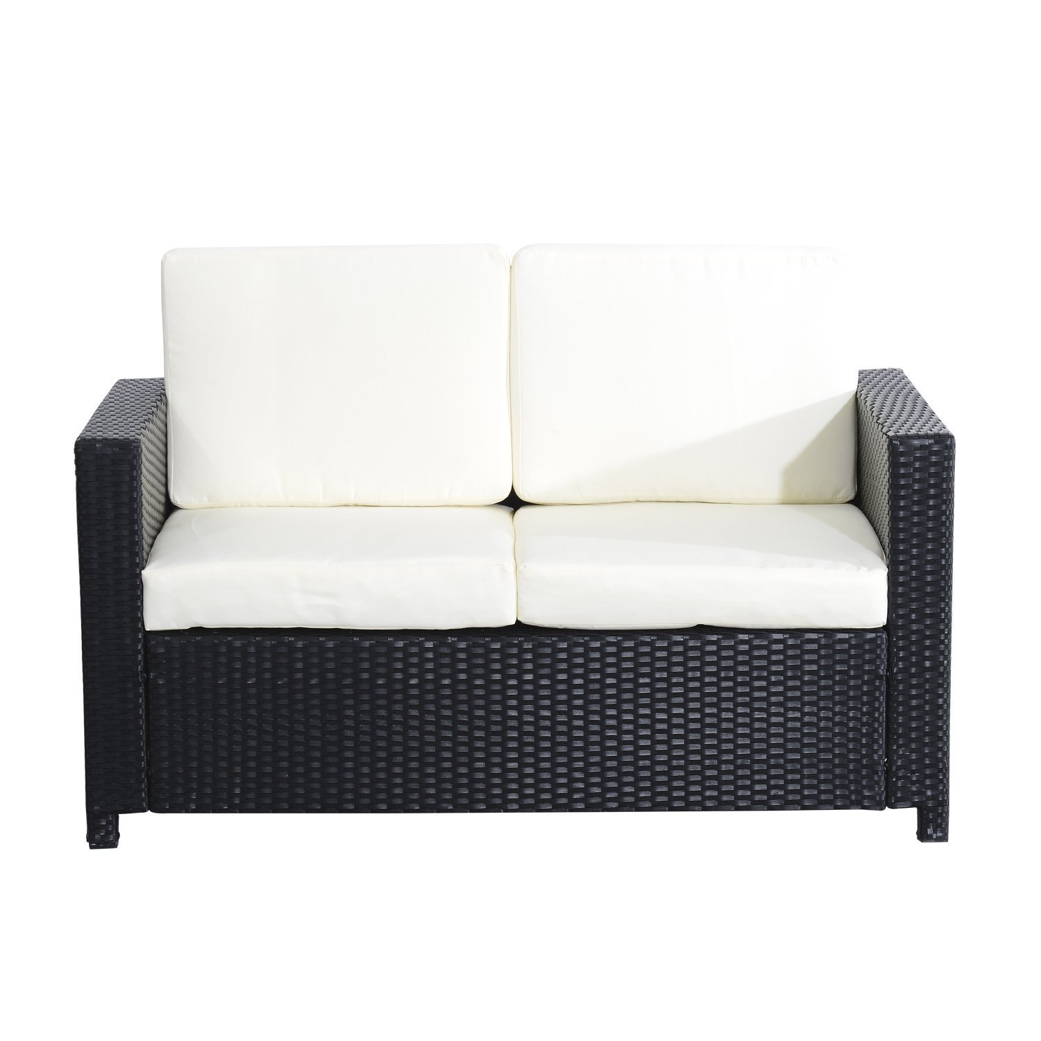 outsunny sessel exklusives polyrattan gartenm bel. Black Bedroom Furniture Sets. Home Design Ideas