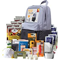 Wise Food Storage Solar Backpack + 5-Day Survival Kit
