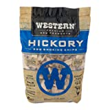 Western Premium BBQ Products Hickory Smoking Chips, 180 cu inch
