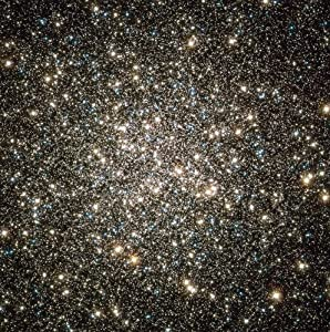 Astronomy Poster - Hubble Image of M13's Nucleus