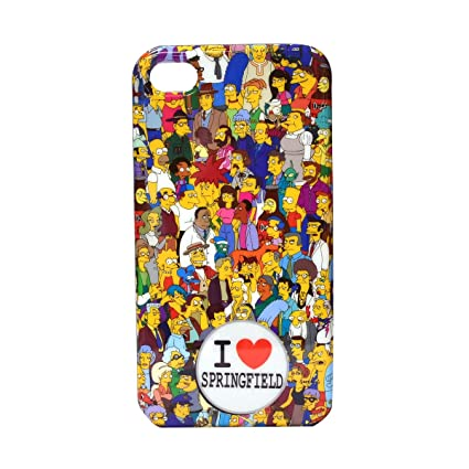 Case Simpsons Iphone 4 Hardshell Case For Iphone 4/4s