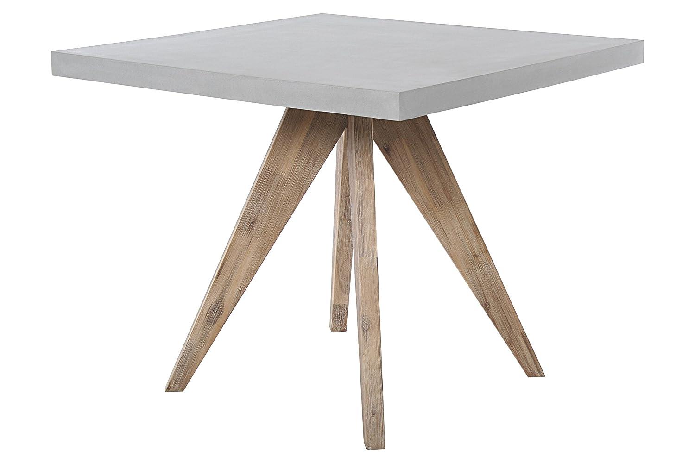 Square Tisch 90×90 cm aus Fiberstone in moderner Betonoptik Gartentisch Gartenmöbel online kaufen