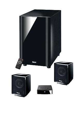 Magnat Multimedia 2100 Digital Système de Home Cinéma + Multimédia Actif Noir