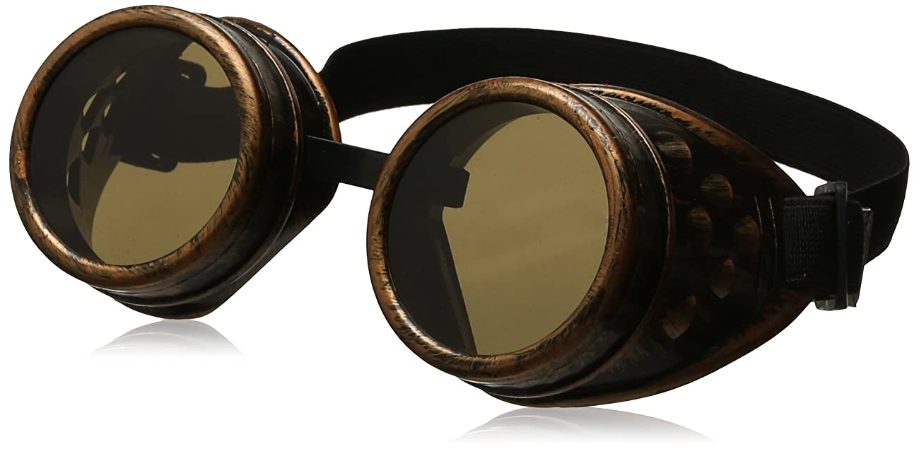 Leegoal(TM) Vintage Steampunk Goggles Glasses Welding Cyber Punk Gothic 0