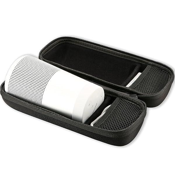 Bose SoundLink Revolve Case, ProCase Hard EVA Storage Carrying Bag Case for Bose SoundLink Revolve Wireless Speaker -Black