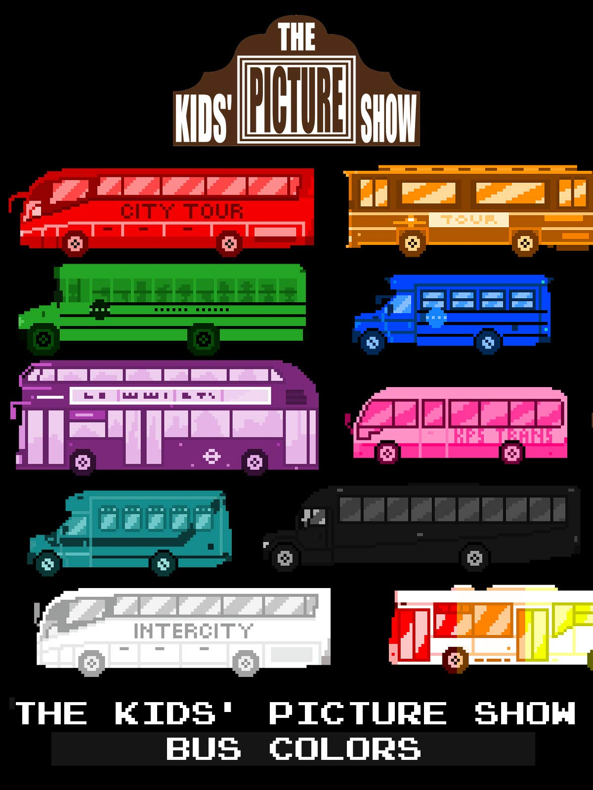 The Kids' Picture Show - Bus Colors