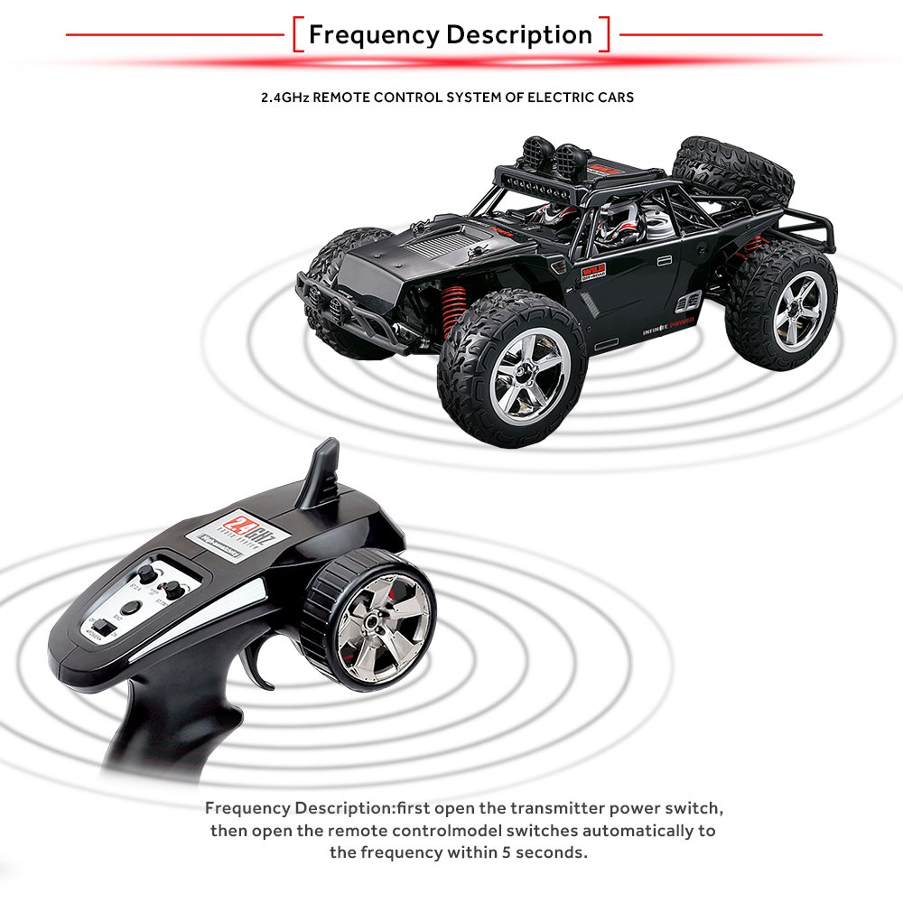 buy vatos rc car off road high speed 4wd 40km h 1 12 scale 50m buy vatos rc car off road high speed 4wd 40km h 1 12 scale 50m remote control 15 mins playing time 2 4ghz electric online at low prices in