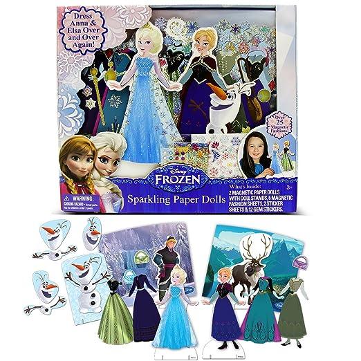 Disney Frozen Sparkling Paper Dolls by Tara Toy