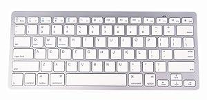 NewVan Tech Ultra-Slim Bluetooth Keyboard Slim Portable Bluetooth Wireless Keyboard for iPad Air, iPad Mini, iPad Mini 2, iPad 2 / 3 / 4, Galaxy Tab,