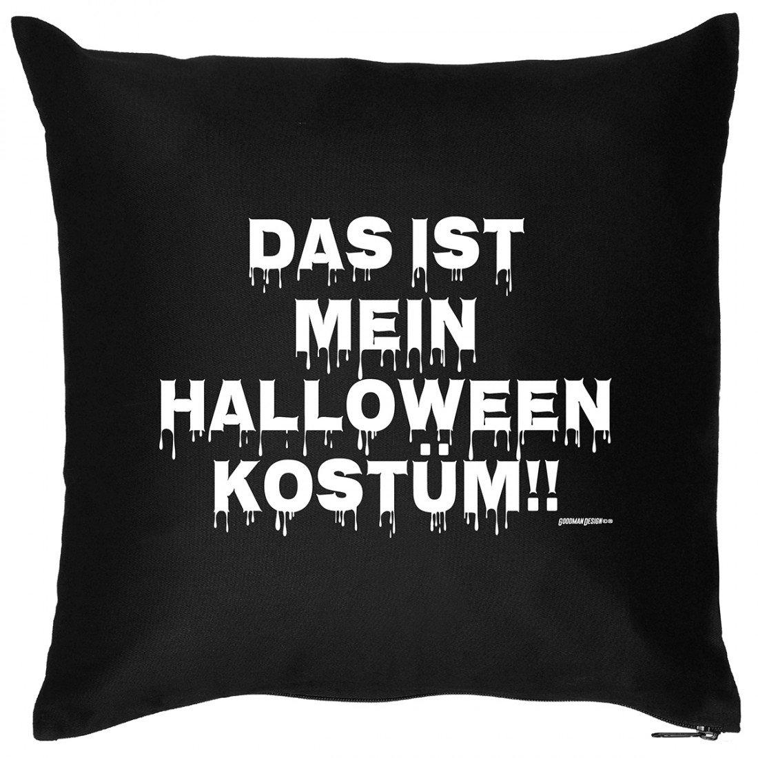Kissen Sofakissen mit Aufdruck – mein Halloween Kostüm – Horror Zombie Monster Hexe Geschenk – Wendekissen günstig online kaufen