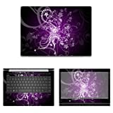 Decalrus - Protective Decal Floral Skin Sticker for HP ProBook 440 G5 (14