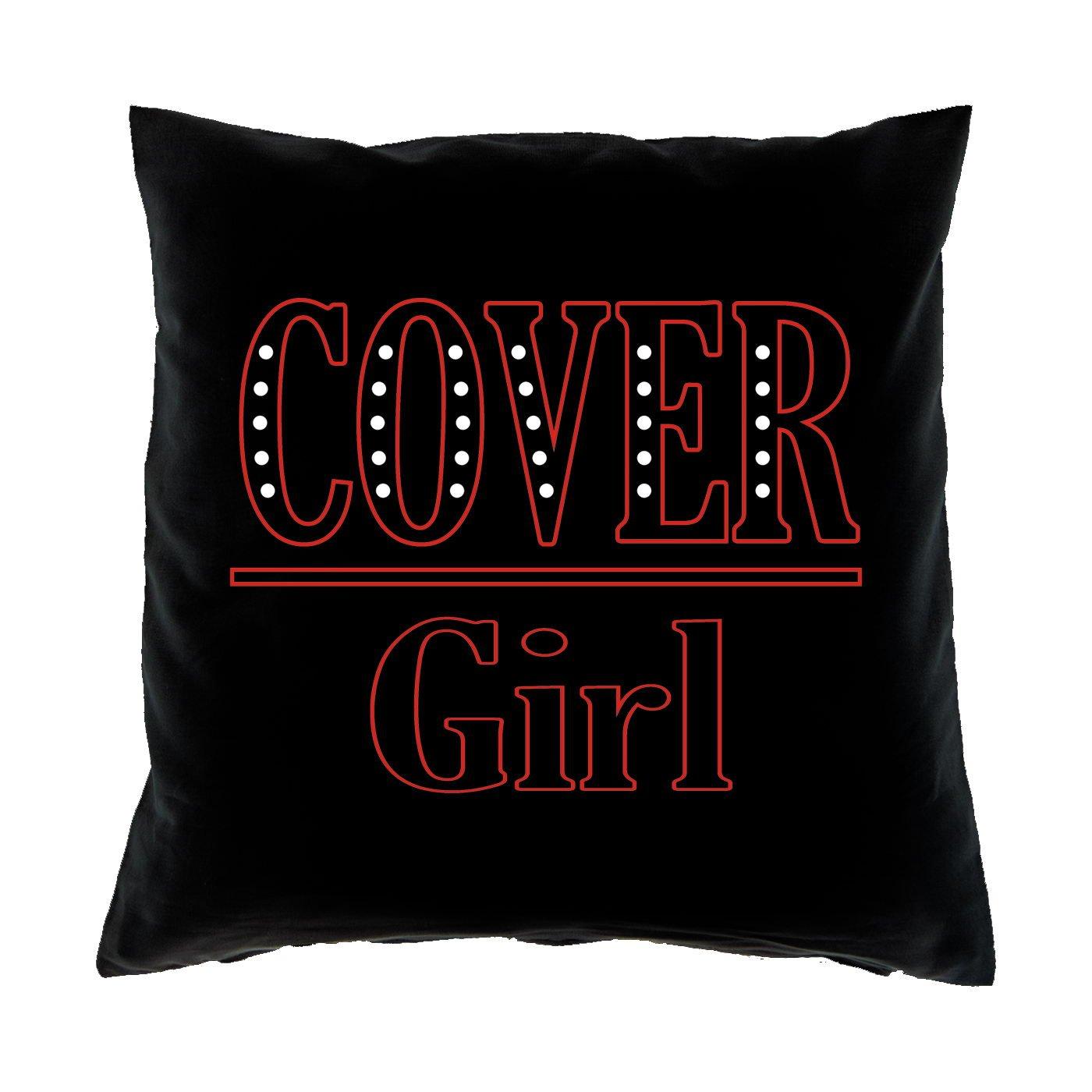 Sofa Fun Kissen mit Füllung – Motiv: Cover Girl online kaufen
