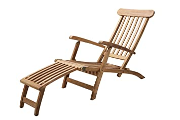 chaise longue aspen en teck teck de grade a m408. Black Bedroom Furniture Sets. Home Design Ideas